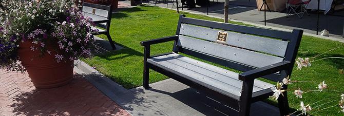 Memorial Bench Program City Of Trail Bc