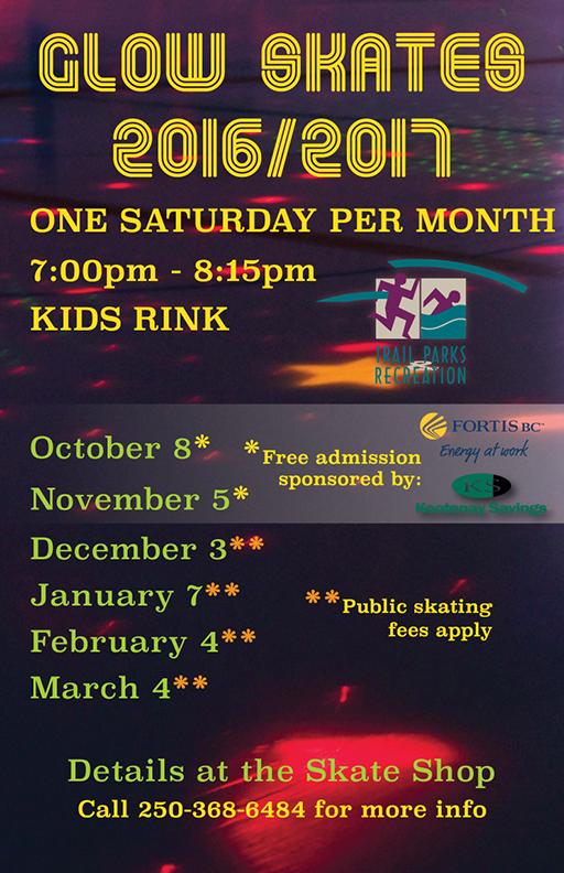 Glow Skate Poster