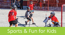 Visit our Sports and Fun For Kids Page
